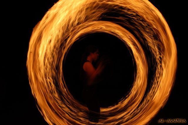 Feuer,- LED,- Schwarzlichtshows