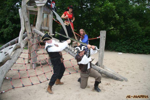 """Piratenshow """"Käpt`n Hooks Rache"""""""